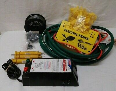 Fi-shock Ss-1000x Heavy Duty Fence Energizer For Livestock And Accesorries