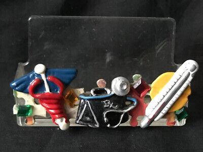 Ann Howard Designs Ny Medical Doctor Vinyl Business Card Holder