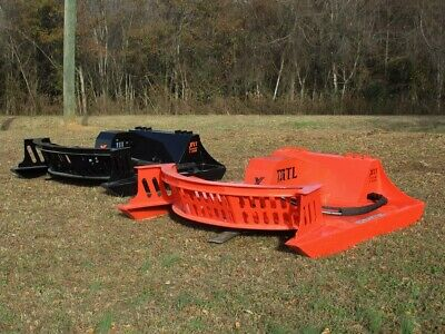 84 Mtl Attachments Xc7 Extreme Skid Steer Brush Cutter 78 Cut-3 Blade-249 Ship