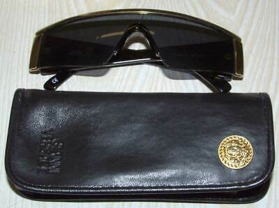 GIANNI VERSACE Black Frame Sunglasses With Cross And Gemstones, Model S98/C 852