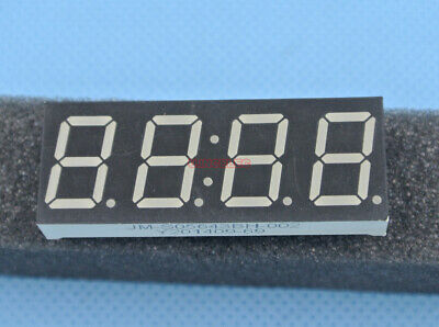 10pcs 0.56 Inches 7 Seg-4 Digit Segment Led Display Time Score Ultra Bright Red