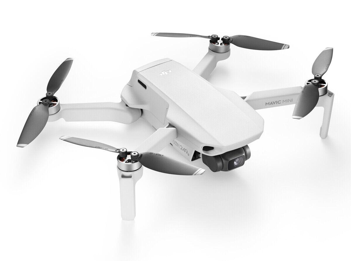 DJI Mavic Mini Quadrokopter Drohne 12 MP 2,7K QHD Weiß 250g