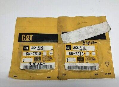 New Caterpillar Cat 6n-7818 Or 6n7818 Lock Ring - Lot Of 2