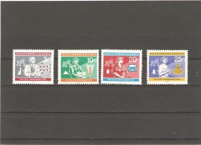 Briefmarken---DDR---1960-----Postfrisch----Mi 800 - 803-----