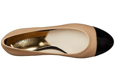 New Size 9.5 Michael Kors SOLD OUT Sabrina Ballet Flat NUDE & Black