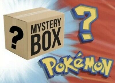 Pokemon Mystery Box! **GUARANTEED 5 BOOSTER PACKS** Chance at Vintage!