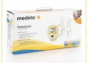 Medela double breast pump - in box