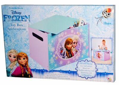 Disney Frozen Kinder Spielzeugkiste/Kinderzimmer Aufbewahrungsbox ca.