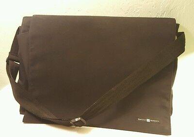 Belly Basics Black Diaper Satchel/Bag