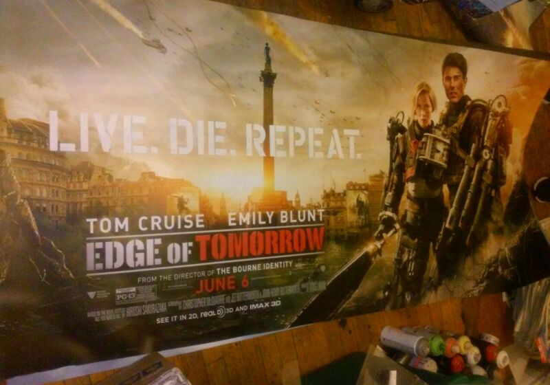 EDGE OF TOMORROW AD