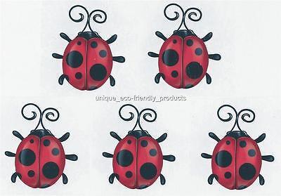 Lady Bug Tattoos (LOT 5 LADY BUG Temporary)