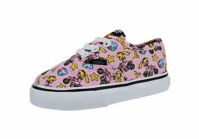 Vans Nintendo Shoes Super Mario Authentic Princess Peach Toddlers VN0004MIK4X