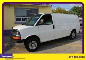 2011 Chevrolet Express 2500 3/4 TON CHROME PKG NO WINDOWS, ACCES
