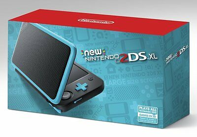 New Nintendo 2Ds Xl   Black   Turquoise  Nn2ds Xl  Ntsc  Console  Brand New