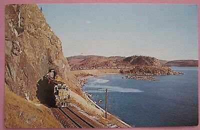 Canadian Pacific 8201 Mink Tunnel Long String Auto Racks 1964 Train Postcard ()