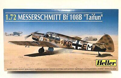 1/72 Heller Models MESSERSCHMITT Bf-108B Taifun Plane Kit Old Stock