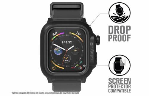 Catalyst Waterproof Case For Apple Watch 44mm Series 4, 44mm Series 5 GRAY 🌊