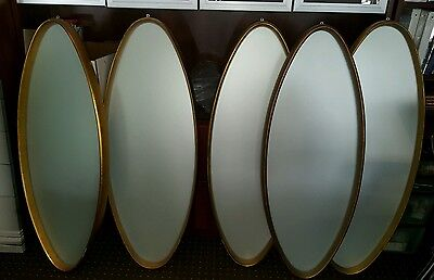 Contemporany modern frosted glass mirrors