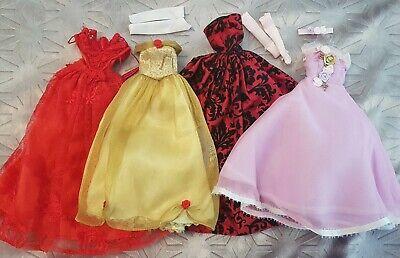 BARBIE DISNEY DOLL Bundle of Clothes Dresses princess ballgowns