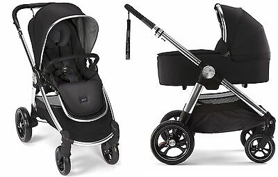 Mamas & Papas 2017 Ocarro Stroller & Bassinet Bundle in Black Brand New!! for sale  Shipping to South Africa