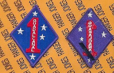 USMC MARINE CORPS 1st Marine Division MAR DIV patch m/e