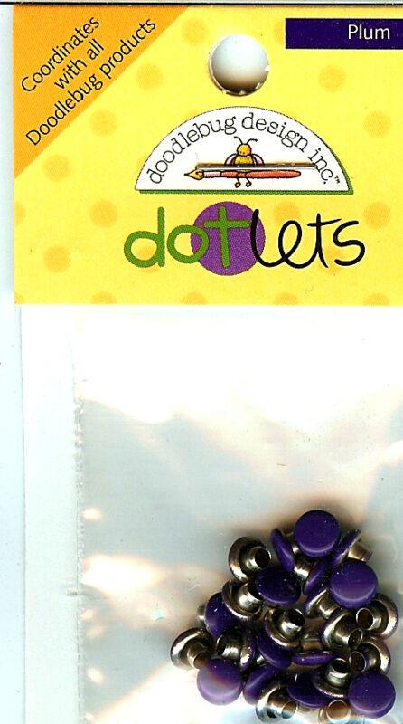 """""""Plum"""" Dotlets - Doodlebug"""