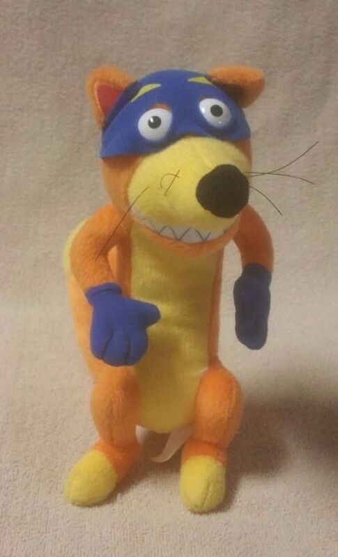 "SWIPER the Fox 9"" Plush Stuffed Toy Doll DORA THE EXPLORER Nick Jr. 2012 EUC"