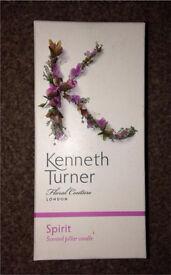 """Kenneth Turner of London"" 'Spirit' 600g Pillar Candle **BNIB**"