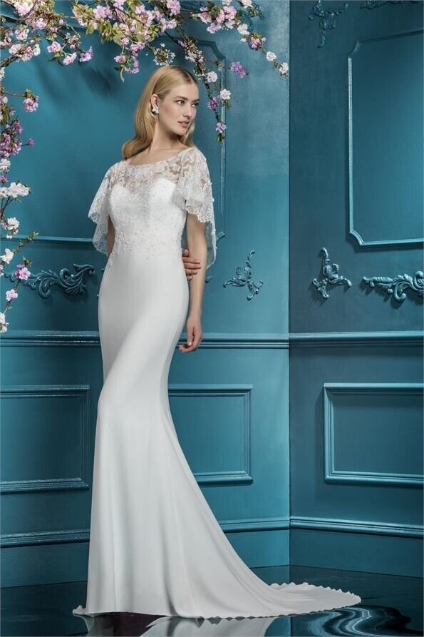 ea0e15c6963 Gorgeous Ellis Bridals wedding dress 11765 size 10