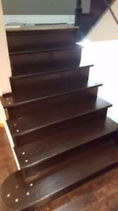 Professional Sanding and Staining Stairs and Hardwood Floor