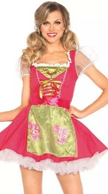 Leg Avenue Beer Girl Costume (Leg Avenue Sexy Women's Beer Girl Garden Gretel 2 PC. Costume XL)