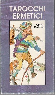TAROCCHI ERMETICI Wirth moderno SERGIO Lo Scarabeo 22 tarot hermetic cards