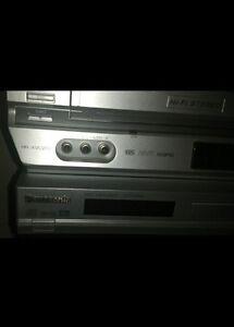 2 Panasonic DVD & JVC DVD Players, and JVC DVD/VHS  Combo