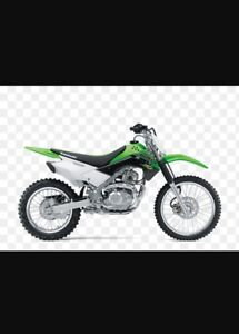 Looking for klx or ttr