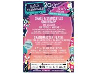Nozstock the Hidden Vally Festival (Herefordshire) Full weekend ticket at £133