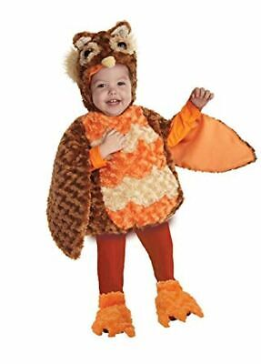 UNDERWRAPS BELLY BABIES OWL KID'S HALLOWEEN COSTUME ASST SIZES  NEW  25978 - Kids Owl Costume