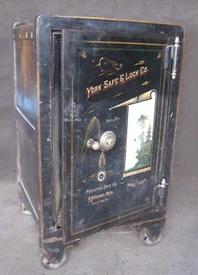 Vintage Mosler Screw Door Safe | Shopping Bin - Search eBay faster