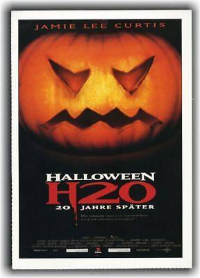HALLOWEEN H20 ♦ 1998 ♦ CINEMA Filmkarte ♦ Jamie Lee Curtis ♦ Michelle Williams ()