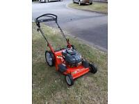 Power propelled mower