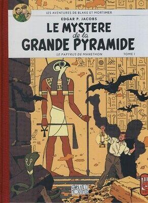 Blake et Mortimer - Le mystère de la grande pyramide T1- de Jacobs - Toilé -2007