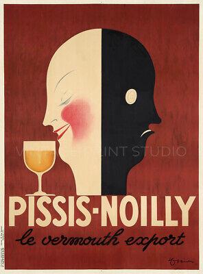 French Aperitif Vermouth 1936 Cappiello Vintage Liquor Giclee Canvas Print (Vermouth Aperitif)