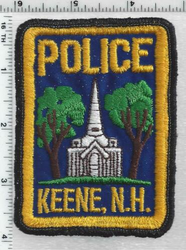 Keene Police (New Hampshire) 2nd Issue Shoulder Patch