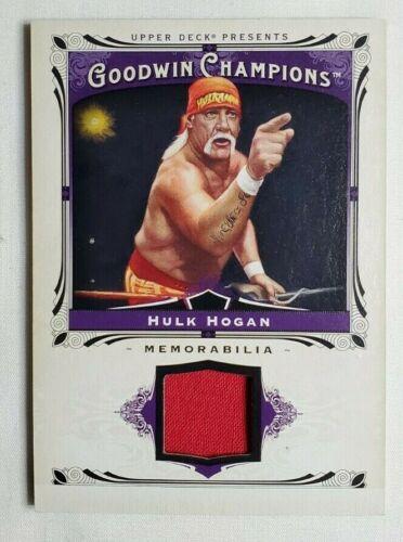 2012 UD Goodwin Champions #104 Hulk Hogan