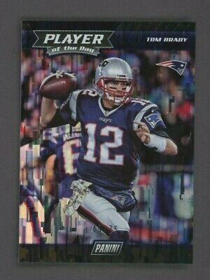 2017 Panini Player of The Day Tom Brady New England Patriots 49/75