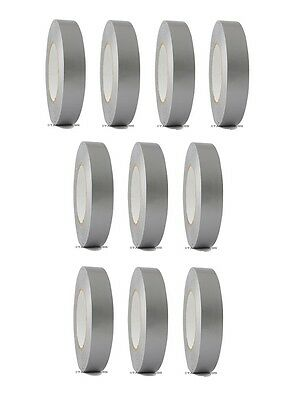 10 Rolls Silver Duct Tape 1 X 60 Yd Utility Grade Duct Tape Free Shipping