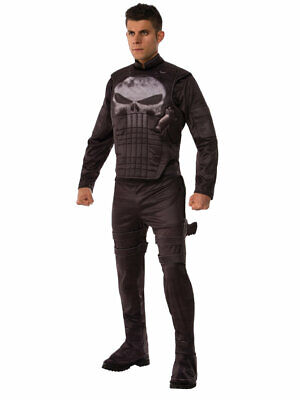 Punisher Luxus Kostüm Daredevil Marvel Comics Superheld Cosplay Frank - Daredevil Comic Kostüm
