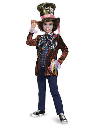 Child Mad Hatter Costume (Alice Through the Looking Glass - Mad Hatter Child)