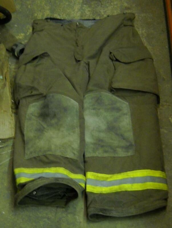 Janesville Lion Turnout Pants Firemans Bunker Pants 42/28