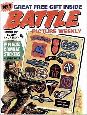 UK COMICS BATTLE PICTURE WEEKLY #1-300 ON DVD + BONUS COMICS