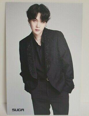 KPOP BTS Bangtan Boys SUGA Post Card Made In Korea Special Photo Card No.12